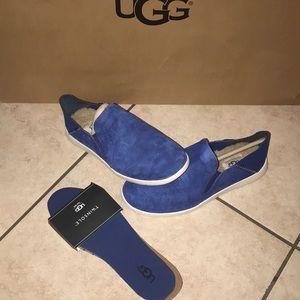 Men's UGG KNOX Blue Slip-on Shoe #7.5